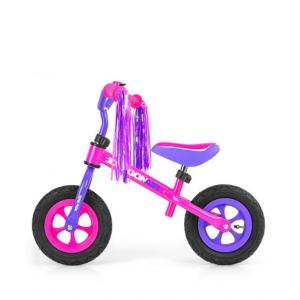 Milly Mally Dragon Bērnu skrējritenis ar metālisko rāmi un pumpējamiem riteņiem