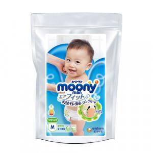 Autiņbiksītes Moony M 6-11kg paraugs 3gab