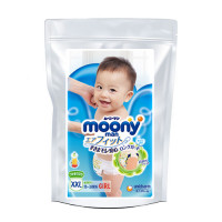 Autiņbiksītes-biksītes Moony XL meitenēm 13-28kg paraugs 3gab