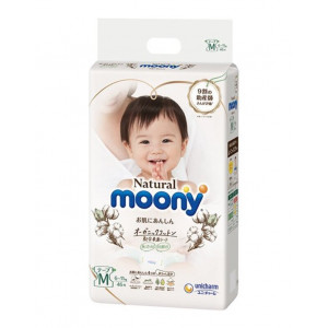 Autiņbiksītes Moony Natural M 6-11kg 46gab