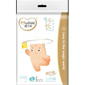 Autiņbiksītes-biksītes Mulimi  L 9-14 kg, 5gab