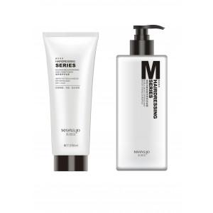 Mayasuo šampūns visiem matu tipiem 400ml+barojošs un atjaunojošs kondicionieris matiem 250ml