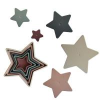 Mushie 2410000 Saliekamo zvaigžņu komplekts