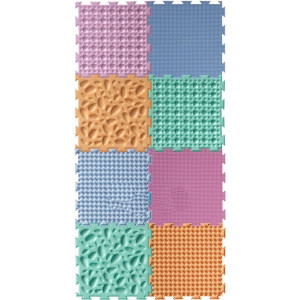Ortoto Paklājiņu komplekts - Pastele