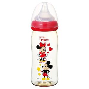 "Pudelīte barošanai Pigeion ""Mikkey Mouse"", 240ml"