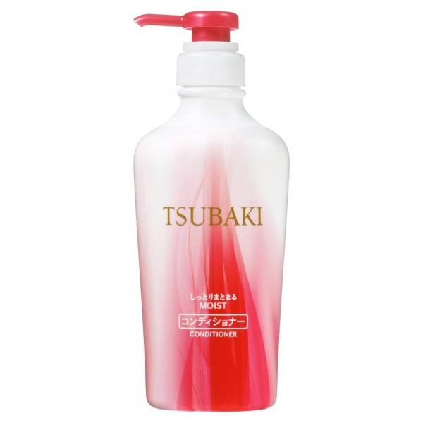 Tsubaki Moist Mitrinošs kondicionieris matiem ar kamēlijas eļļu, SHISEIDO, 450 ml