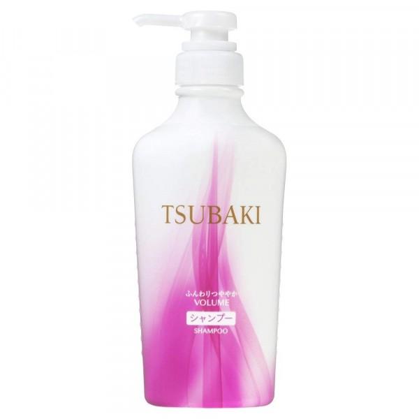 Tsubaki Volume šampūns ar kamēlijas eļļu matu apjoma palielināšanai, SHISEIDO, 450 ml