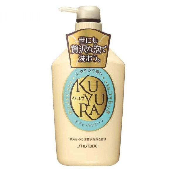 Dušas gels ar zāļuaromātu, Shiseido KUYURA, 550 ml