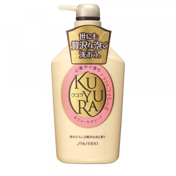 Dušas gels ar ziedu aromātu, Shiseido KUYURA, 550 ml