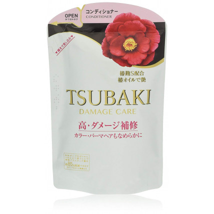 "Shiseido ''Tsubaki Damaged Care"" kondicionieris bojātu matu atjaunošanai, pildviela 345ml"