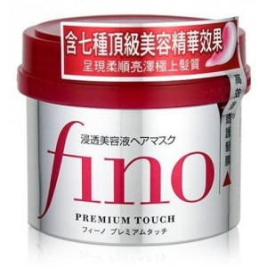 Maska sausiem un bojātiem matiem Shiseido Fino Premium Touch Hair Mask  230 g