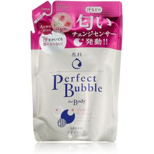 Shiseido Perfect Bubble dušas gels ar hialuronskābi un ilgstošu dezodorējošu efektu, pildviela 350ml