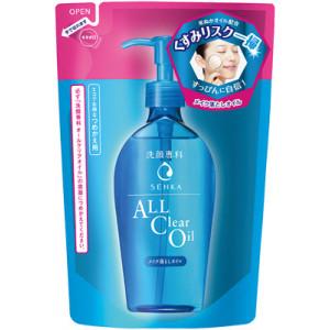 """Shiseido ''Senka"""" eļļa kosmētikas noņemšanai ar hialuronskābi pildviela 180ml"""