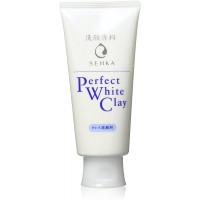 Shiseido Senka Perfect White Clay putas sejas mazgāšanai ar balto mālu 120g
