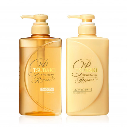 Shiseido Tsubaki Premium Repair šampūns 490ml+ Shiseido Tsubaki Premium Repair kondicionieris 490ml