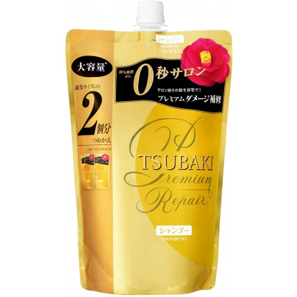 Shiseido Tsubaki Premium Repair šampūns, pildviela 660ml