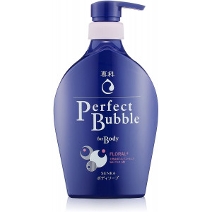 Šķidrās ķermeņa putu ziepes Shiseido «Senka» Floral Fragrance ar ilgstošu dezodorējošu efektu, 500 ml