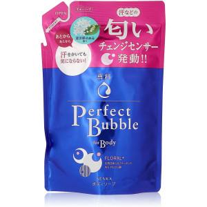 Šķidrās ķermeņa putu ziepes Shiseido «Senka» Floral Fragrance ar ilgstošu dezodorējošu efektu pildviela 350ml