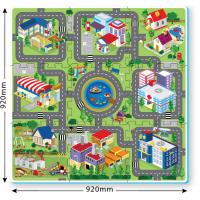 Suntatoys Bērnu daudzfunkcionālais grīdas paklājs puzle