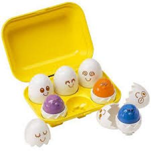 Tomy Hide and Squeak Eggs E1581 Bērnu rotaļlieta-sorteris