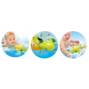 Tomy E2712 Vannas rotaļlieta bruņurupucis