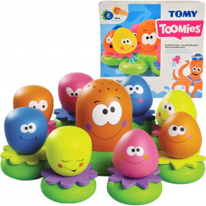 Tomy E2756 Vannas rotaļlieta-astoņkājis