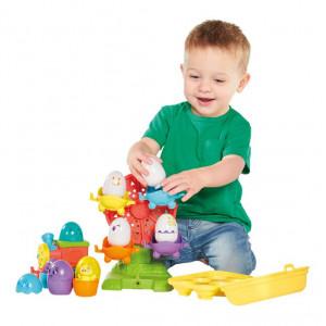 Tomy Eggventure Train 2in1 E73099 Attīstošā rotaļlieta