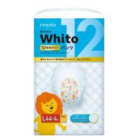 Autiņbiksītes-biksītes Whito 12h PL 9-14kg 48gab