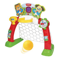 WinFun 6003 Muzikāla attīstošā interaktīvā rotaļlieta futbols ar gaismas un skaņu efektiem