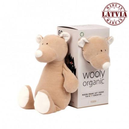 Wooly organic 00101 Lielā rotalļieta lācis