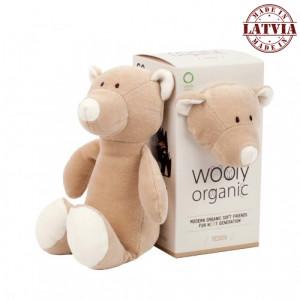 Wooly organic 00102 Mazā rotalļieta lācis
