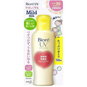Biore UV SPF 30+ aizsargājošs sauļošanās pieniņš visai ģimenei 120ml