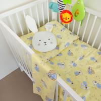 Bērnu gulta veļas komplekts 3-dalīgs, BEARS 100x140/105x150/40x60cm