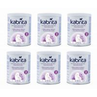 Kabrita 2 nākamais mākslīgais piena maisījums uz kazas piena pamata komfortablai gremošanai zīdaiņiem vecumā no 6 līdz 12 mēnešu vecumam 6x800g