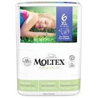 Autiņbiksītes Moltex Pure & Nature 6 XL 16-30kg 21gab