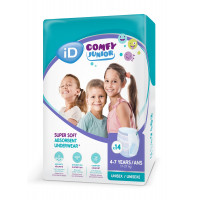 Autiņbiksītes-biksītes iD Comfy Junior 17-27kg 14gab