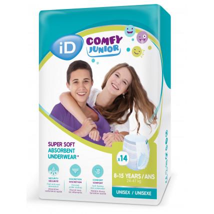 Autiņbiksītes-biksītes iD Comfy Junior 24-47kg 14gab