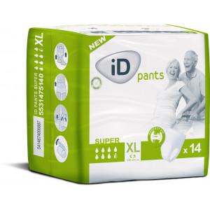Autiņbiksītes-biksītes pieaugušajiem iD pants XL 14gab