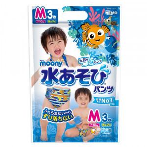 Moony peldbiksītes boy PM 6-12kg 3 gab