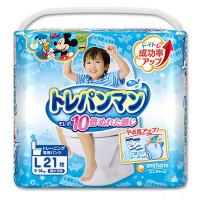 Treniņu biksītes Moony bērna pieradināšanai tualetei, zēniem L 9-14kg 21gab