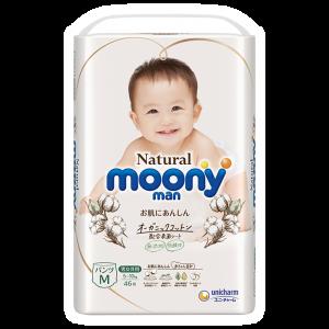 Autiņbiksītes-biksītes Moony Natural PM 5-10kg 46gab