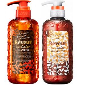 """Reveur ''For Color"""" šampūns 500ml+kondicionieris krāsotiem matiem 500ml"""