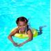 Peldriņķis mazuļiem (piepūšams riņķis peldēšanai) no 4 -8 gadiem Freds Swimtrainer Classic